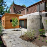 Matthews Building Supply for Contemporary Exterior with Light Wood Siding