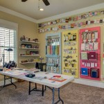 Matthews Building Supply for Traditional Home Office with Organized Craft Supplies
