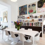 Maxalto for Contemporary Dining Room with Dining Chairs