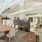 Maxalto for Contemporary Dining Room with Living Space