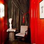 Maya Romanoff for Eclectic Hall with Wall Sconce