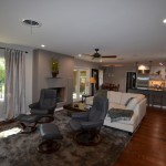 Mayan Hardwood for Contemporary Living Room with Living Room