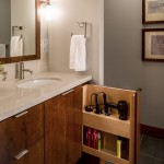 Mayer Electric Supply for Contemporary Bathroom with Wall Mirror