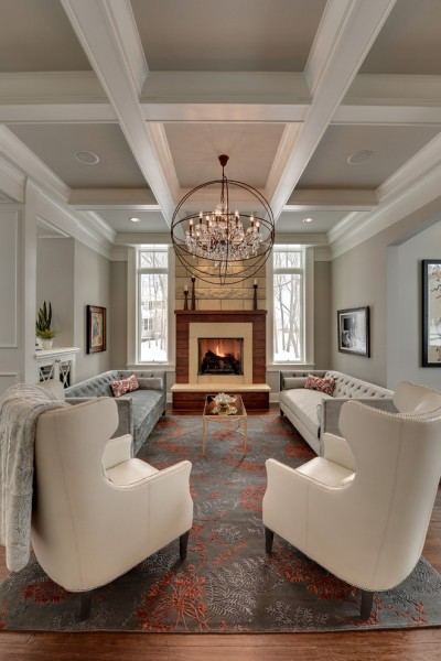 Mchsi for Traditional Living Room with Living Room