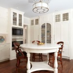 Medallion Cabinets for Traditional Kitchen with Recessed Lighting