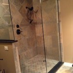 Menards Traverse City for Traditional Bathroom with Tile Shower