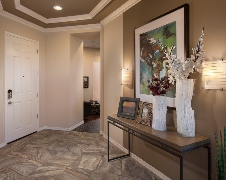 Meritage Homes Az for Contemporary Entry with Picture Frames
