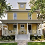 Meritage Homes Houston for Traditional Exterior with Rocking Chairs
