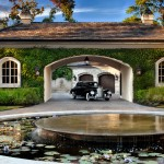 Meritage Homes Houston for Traditional Garage with French