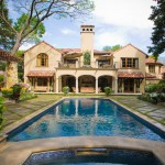 Meritage Homes Houston for Traditional Pool with White Flowers