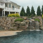 Merrifield Garden Center for Contemporary Pool with Pool