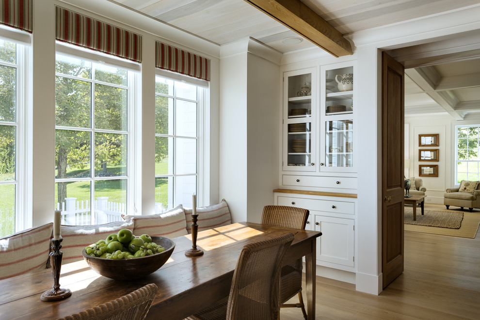 Messy Marvin for Farmhouse Dining Room with Beige Molding