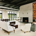 Messy Marvin for Industrial Living Room with Fireplace