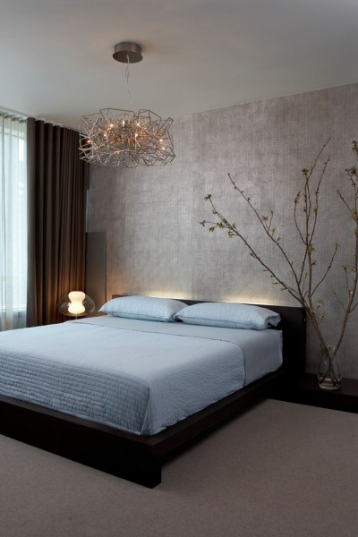 Metal Mart Lehi for Contemporary Bedroom with Backlit Bed