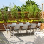 Metropolitan Lumber for Contemporary Patio with Raised Planters