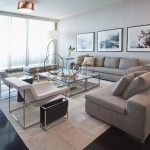Miami Beach Botanical Garden for Modern Living Room with Glass Coffee Table