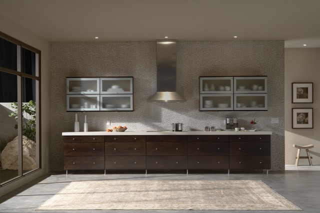 Mid Continent Cabinetry for Contemporary Kitchen with Kitchen Cabinets