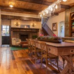 Midwest Homes for Pets for Rustic Kitchen with Wood Beams