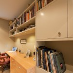 Millbrook Apartments for Contemporary Home Office with Home Office with a Combination of Paint