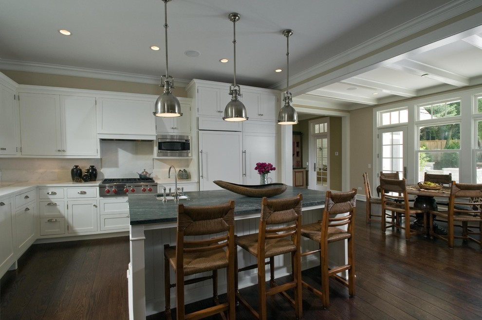 Miniwax for Traditional Kitchen with Cabinets