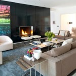 Minotti for Modern Living Room with White Armchairs