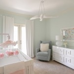 Minwax Stain Colors for Contemporary Nursery with Pink Monogram