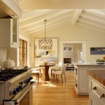 Minwax Stain Colors for Transitional Kitchen with Wood Countertop