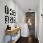 Mirage Flooring for Contemporary Hall with Reclaimed Wood