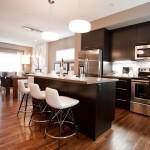 Mirage Flooring for Contemporary Spaces with Wood Floor