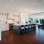 Mirage Flooring for Transitional Kitchen with Water View