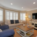 Monmouth Plantation for Beach Style Family Room with White Trim
