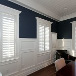 Monmouth Plantation for Craftsman Home Office with White Trim