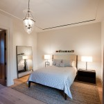 Monocoat for Traditional Bedroom with Wall Decor