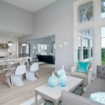 Monocoat for Transitional Living Room with Kitchen