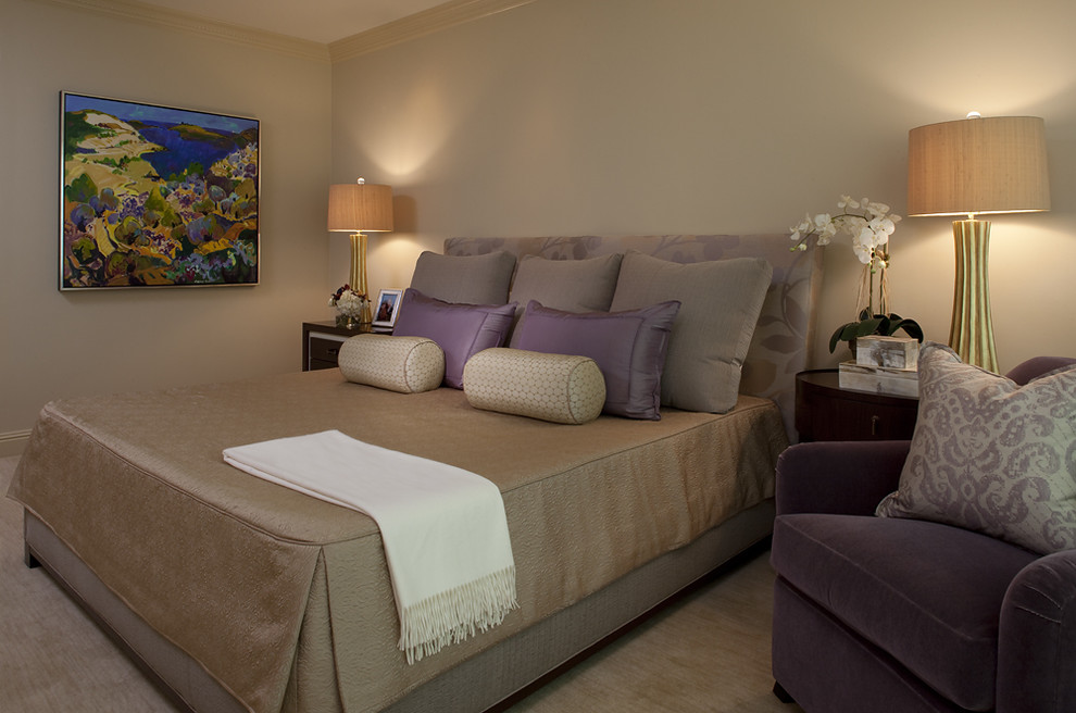 Monroe Bisque for Contemporary Bedroom with Neutral
