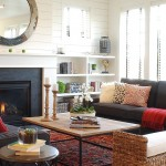 Mor Furniture Boise for Farmhouse Living Room with Fireplace