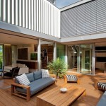 Mor Furniture for Less for Contemporary Deck with Courtyard