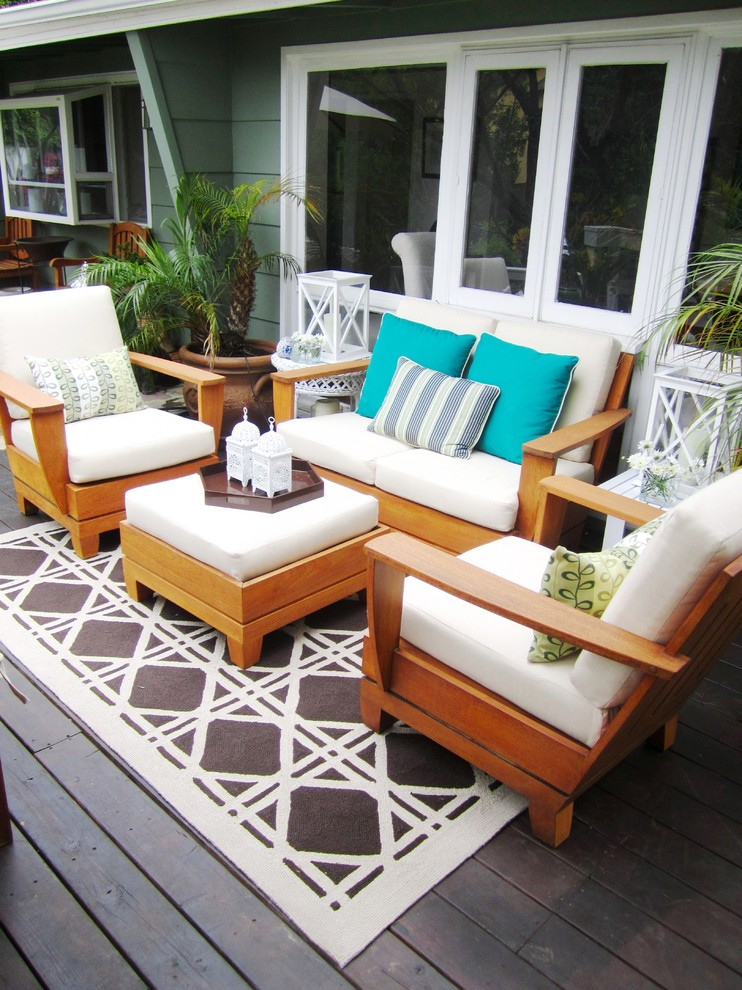 Mor Furniture for Less for Contemporary Deck with Deck