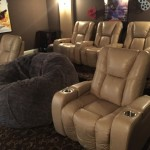 Morro Bay Theater for Transitional Home Theater with Theater Furniture