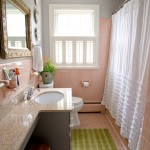 Mosaic Richmond for Eclectic Bathroom with Pink Tile