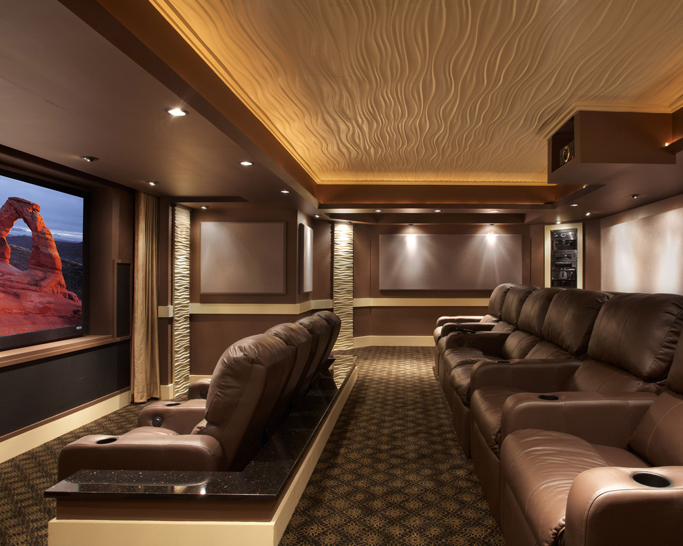 Movie Theater Clarksville Tn for Contemporary Home Theater with Projector