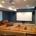 Movie Theater Clarksville Tn for Traditional Basement with Home Theater
