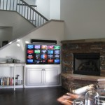 Mt Bachelor Village for Rustic Living Room with Home Automation