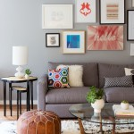 Must See in San Francisco for Contemporary Living Room with Brown Leather Ottoman