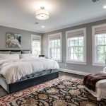 Mythic Paint for Traditional Bedroom with Gray and White