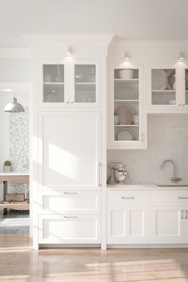 Nanz for Traditional Kitchen with Wood Floor