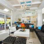 Naples Mercedes for Contemporary Family Room with Practical Family Room
