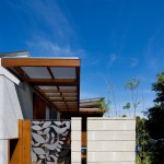 Natec for Contemporary Entry with Front Fence