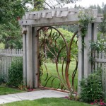 Natec for Contemporary Landscape with Wrought Metal