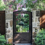 Natec for Traditional Landscape with Iron Fence